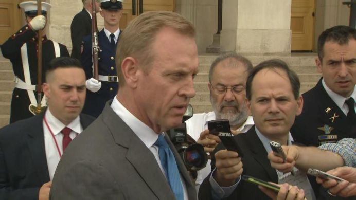 Acting U.S. Defense Secretary Patrick Shanahan. Reuters