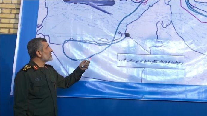 Iran showcases purported wreckage of downed U.S. drone. REUTERS