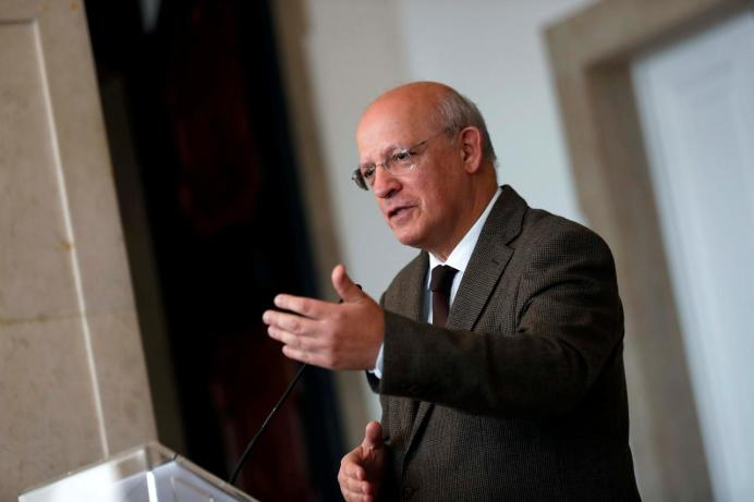 FILE PHOTO: Portuguese Foreign Minister Augusto Santos Silva. REUTERS