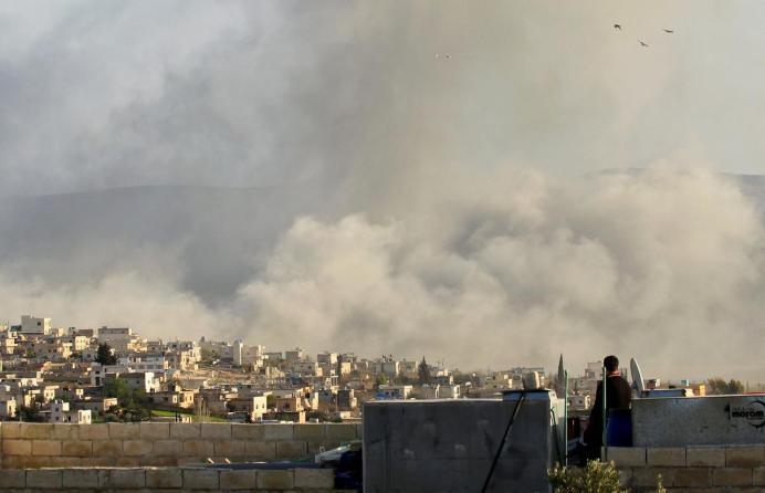 FILE PHOTO: Atimah, Idlib province. REUTERS/Ammar Abdullah