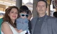 Ahmadreza Djalali with his family. Source: Kayhan London