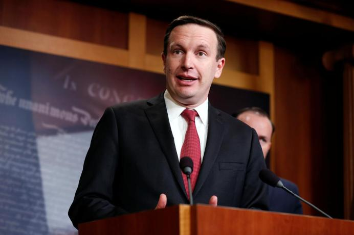 Senator Chris Murphy. REUTERS./