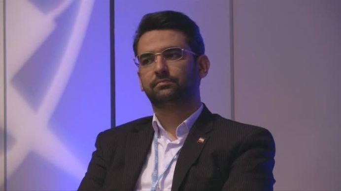 Iranian Telecoms Minister, Mohammad Javad Azari-Jahromi. REUTERS./