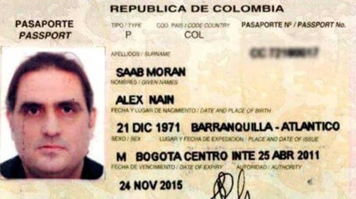 Alex Nain Saab Moran. Kayhan London