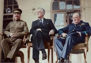 Tehran Conference, 1943. KAYHAN LONDON./