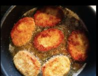 4. Fry in cooking oil