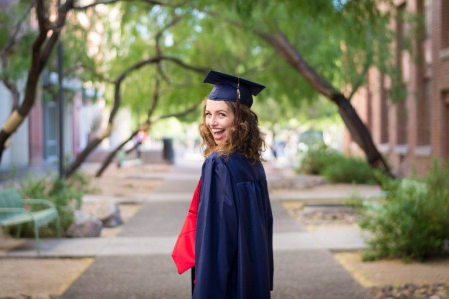 Abby's graduating