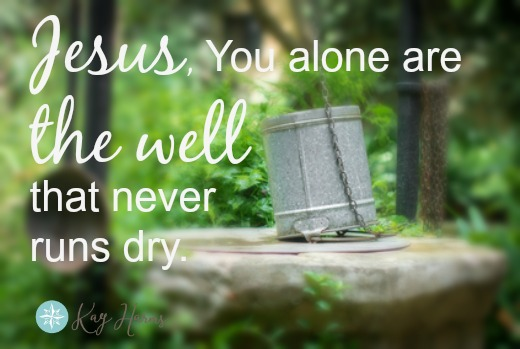 Jesus is the Well
