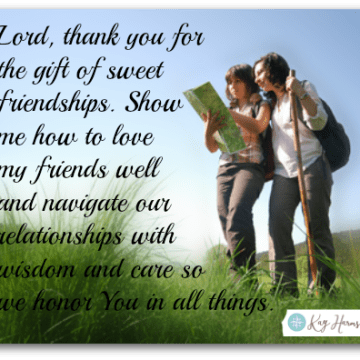 Photo: Wisdom in Friendship