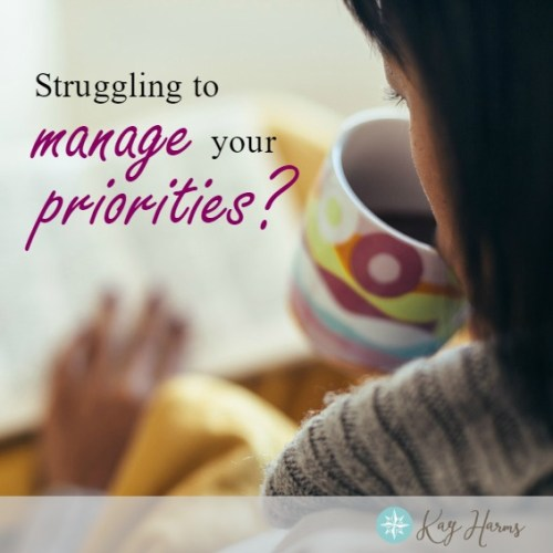 Struggling Priorities Image