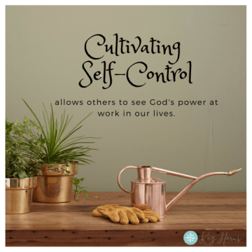 Cultivating Self-Discipline graphic