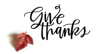 Give Thanks Masthead