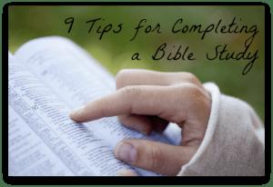 9 Tips Bible Study Downloadable PDF