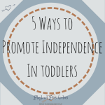 5 Ways to Promote Independence