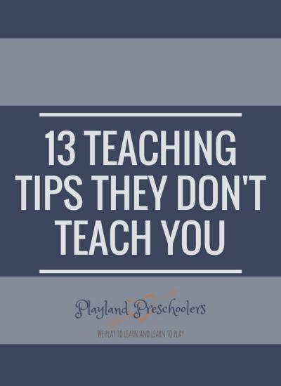13 Teaching Tips