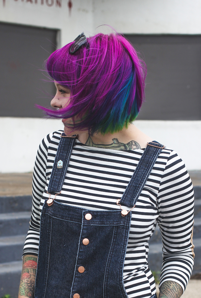 colorful hair, the dainty squid, kaylah doolan,