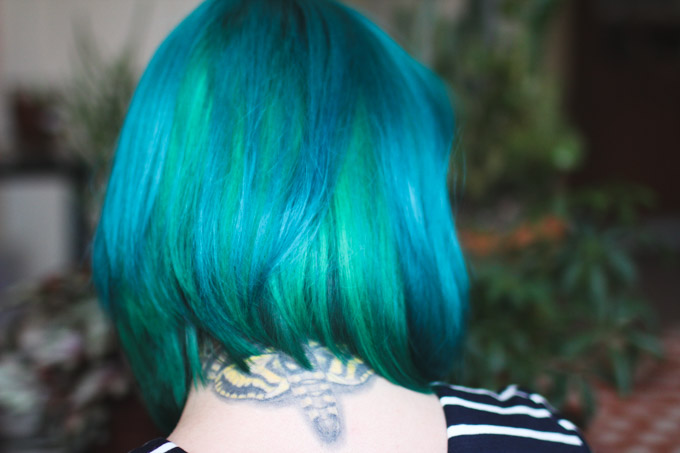 2 tips for switching hair color easily - THE DAINTY SQUID
