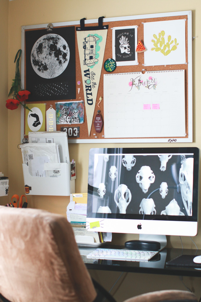 office inspiration, blogger