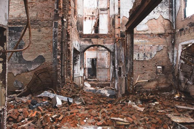 abandoned building, ohio, knox county