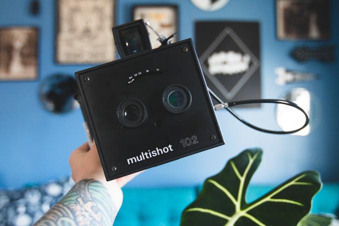 land camera, instant camera