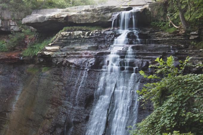 Ohio Waterfall, CVNP, national park, waterfall
