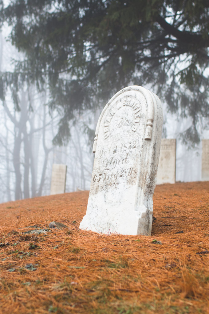 grahamville cemetery, pennsylvania