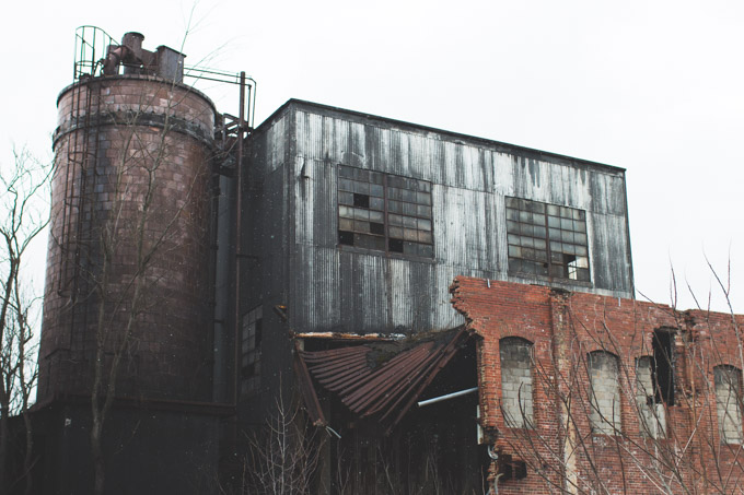 abandoned, factory, ohio
