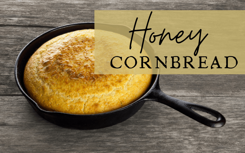 Honey Cornbread Recipe