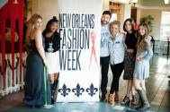 With the Crew From New Orleans Fashion Week