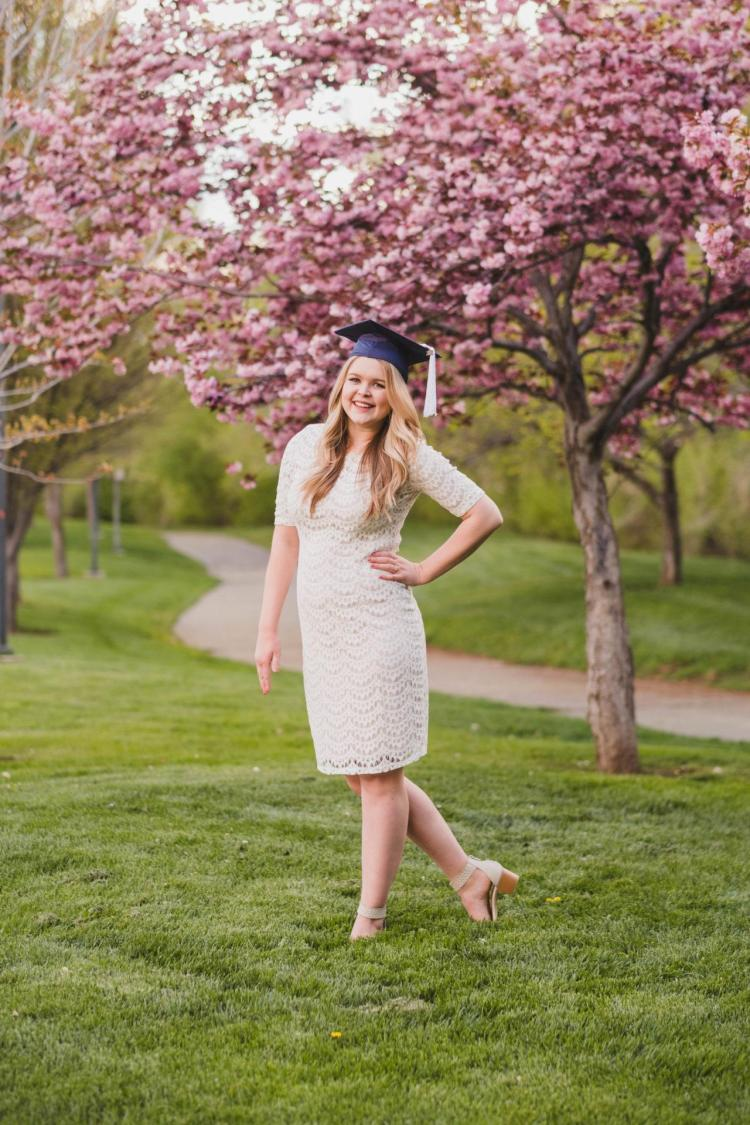 byu graduation pictures in the spring