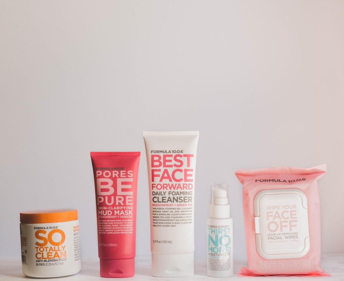 combination skin products