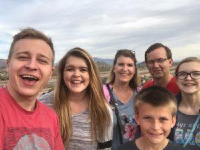 family trip to Arizona