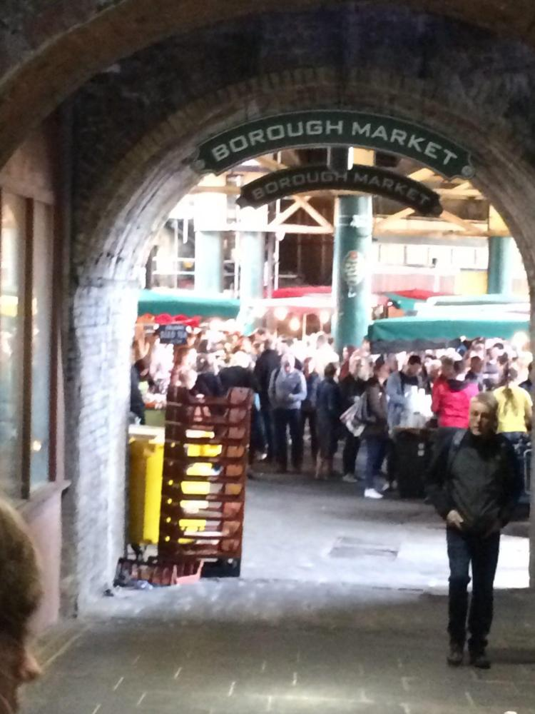 the burough market is one of the many things to do in london