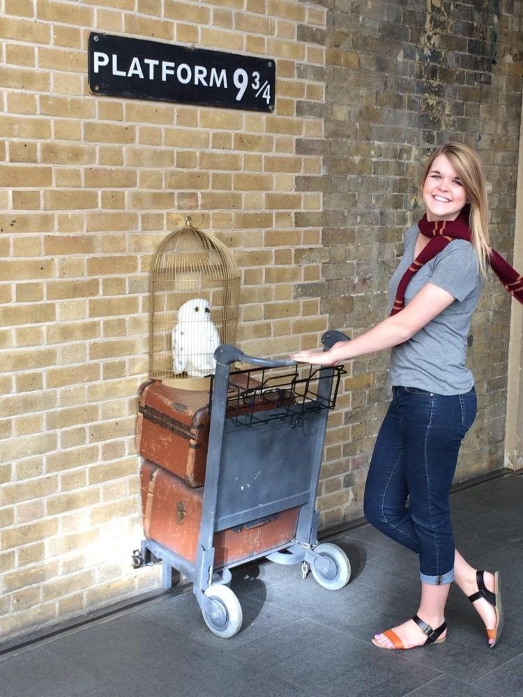 king's cross station is one of the many things to do in london