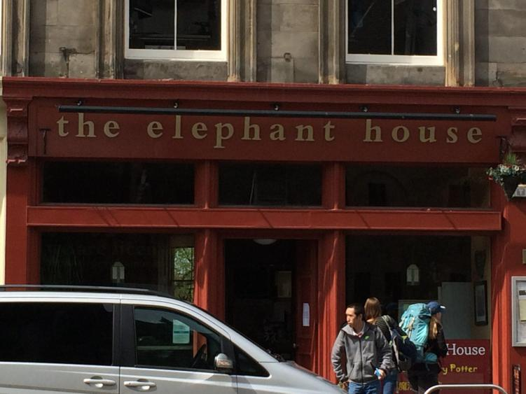 The Elephant House is one of the many things to do in Edinburgh