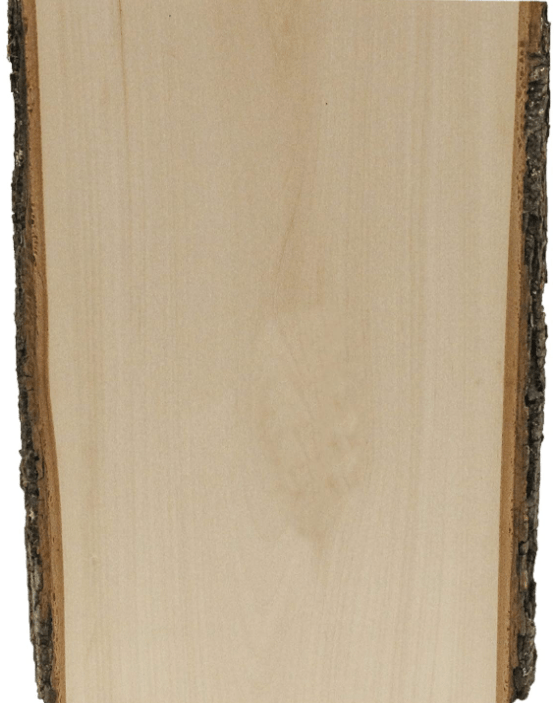 Live Edge Wooden Sign