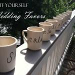 Diy Wedding Favors Sharpie Coffee Mugs Kaylee May