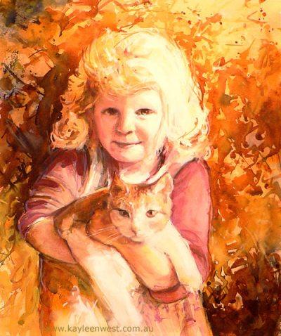 Child's Portrait: Emily