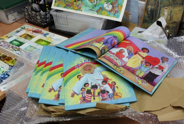 Picture books (advanced copies arrive)