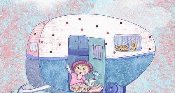 52 week illustration challenge. Gift card Challenge #illo52weeks Caravan