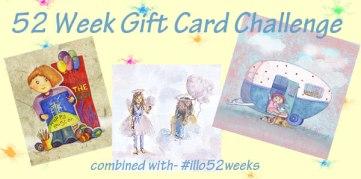52 week illustration challenge. Gift card Challenge #illo52weeks