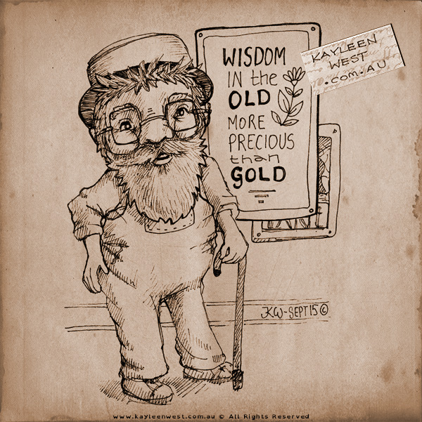 Wisdom of old, more precious than gold