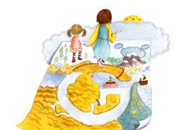Childrens Book Illustration G Jesus our guide