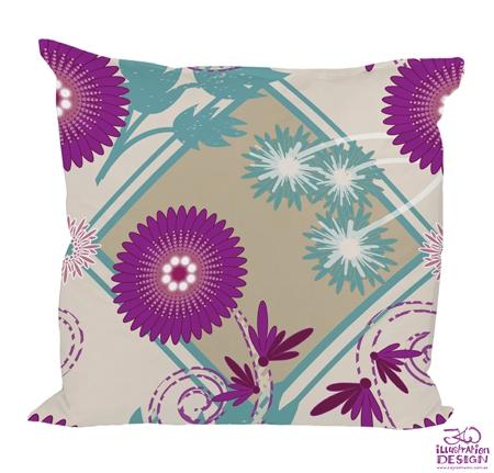 Surface pattern design: Floral Burst