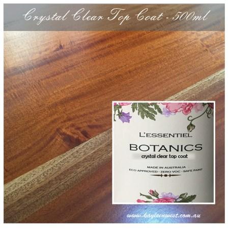 L'ESSENTIEL BOTANICS CRYSTAL CLEAR TOP COAT TOUGH sealer