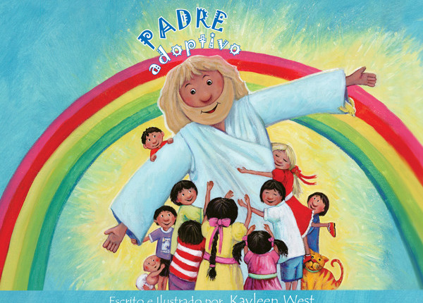 Spanish translation for Christian picture book, Adoptive Father.