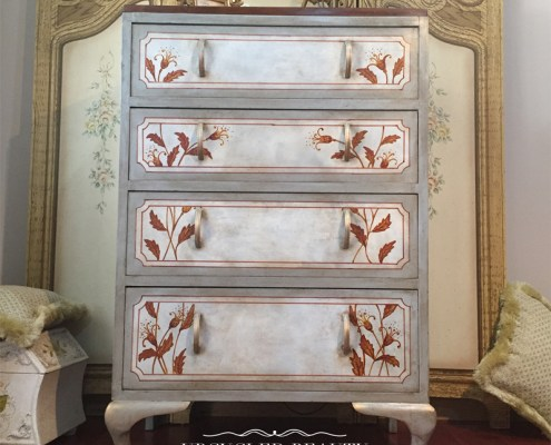 Upcycled Beauty Painted Furniture Makeovers Tall boy