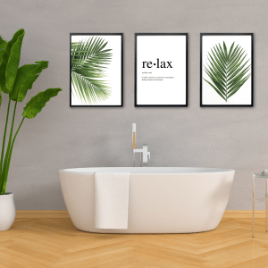 Botanical Bathroom Prints