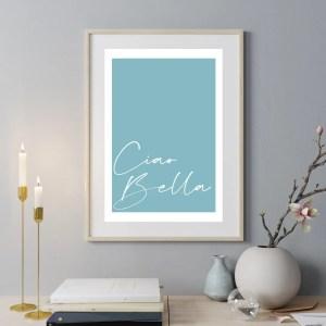 Ciao Bella Wall Print