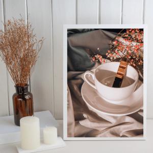 Cozy Autumn Coffee Print